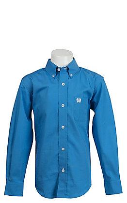 Cinch L/S Boy's Solid Fine Weave Shirt MTW7060083