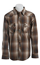 Wrangler Mens LS Snap Western Shirt MV1355MX- Big & Tall Sizes