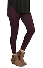 One 5 One Women's Berry Bark Fleece Leggings