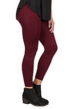 One 5 One Women's Brick Fleece Lined Leggings