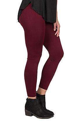 One 5 One Women's Brick Fleece Lined Leggings