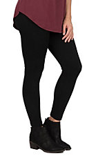 One 5 One Women's Chocolate Fleece Lined Leggings