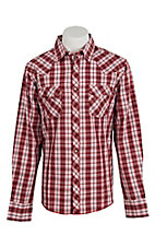 Wrangler Men's Easy Care Plaid L/S Western Shirt MVG105M