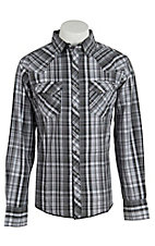Wrangler Men's Easy Care Plaid L/S Western Shirt MVG108M