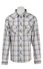 Wrangler Men's Easy Care Plaid L/S Western Shirt MVG114M