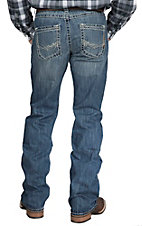 Rock 47 by Wrangler Men's Bass Slim Fit Boot Cut Jean