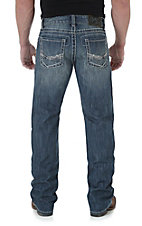 Rock 47 by Wrangler Men's Drummer Slim Fit Boot Cut Jean