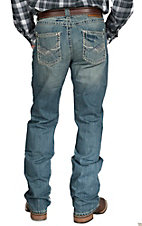 Rock 47 by Wrangler Men's Kick Drum Slim Fit Boot Cut Jean