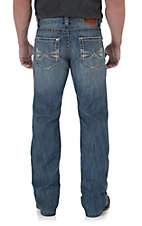 Rock 47 by Wrangler Men's Rock Slim Fit Boot Cut Jean