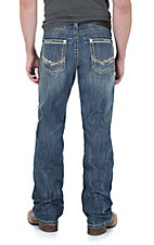 Rock 47 by Wrangler Men's Super Base Slim Fit Boot Cut Jean