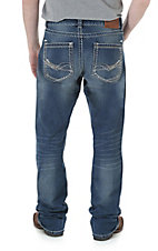 Rock 47 by Wrangler Men's Slasher Slim Fit Boot Cut Jean