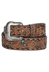 Men's Tooled Belts