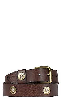 Nocona Brown 12 Gauge Shell Belt