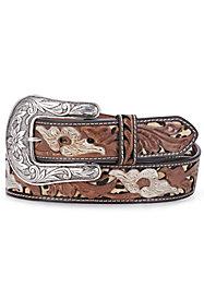 Women's Tooled Belts