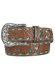 Women's Tooled Belts