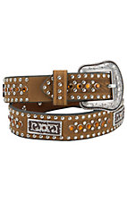 Nocona Children's Rhinestone Distressed Belt N4423244