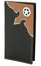Nocona Mens Rodeo Wallet/Checkbook Cover N5440402
