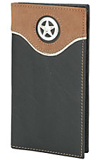 Nocona Black Rodeo Wallet/Checkbook Cover N5441401