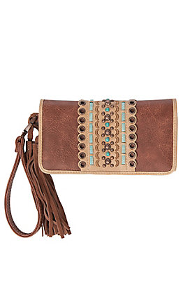 Blazin Roxx Laney Women's Clutch Trifold Wallet
