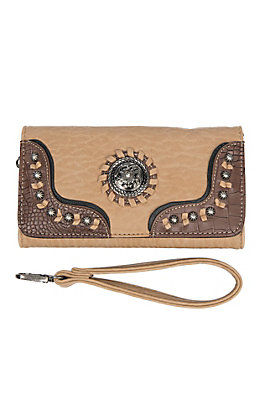 Blazin Roxx Women's Kinsey Brown Clutch