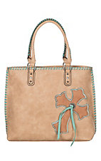 Blazin Roxx Women's Abigail Cross Tote Concealed Carry Bag