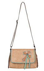 Blazin Roxx Women's Abigail Flap Shoulder Concealed Carry Purse