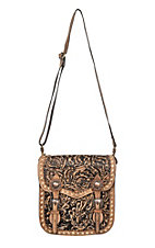 Blazin Roxx Women's Shiloh Tooled Saddlebag Concealed Weapon