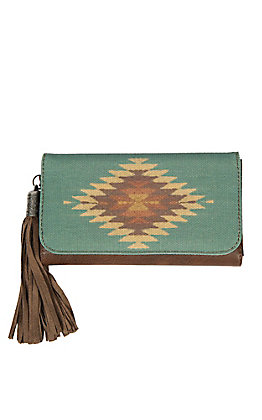 Blazin Roxx Women's Zapotec Flap Wallet