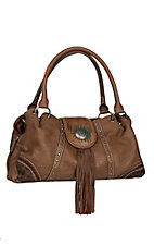 Blazin Roxx Ella Brown Concealed Weapon Purse