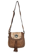 Blazin Roxx Women's Ella Messenger w/ Concealed Weapon Purse