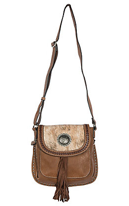 Blazin Roxx Women's Ella Messenger with Concealed Weapon Purse