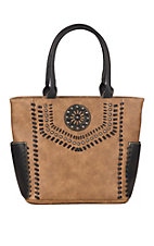 Blazin Roxx Tan Vanessa Tote Concealed Weapon Purse