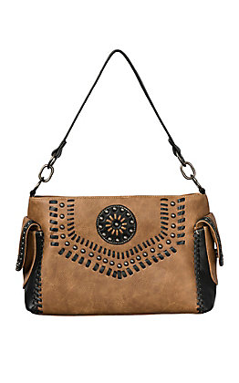 Blazin Roxx Women's Tan Vanessa Concealed Weapon Satchel