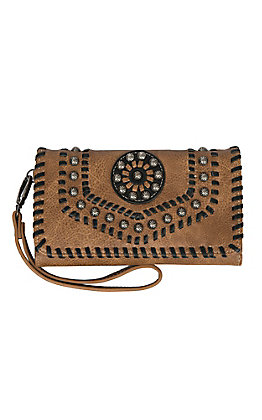 Blazin Roxx Women's Tan Vanessa Clutch Wallet