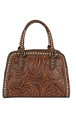 Blazin Roxx Tan Floral Embossed Doctors Bag N7570208