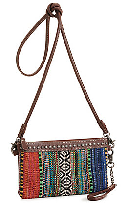 Blazin Roxx Savannah Multi-Colored Serape Clutch / Belt Bag / Crossbody Bag