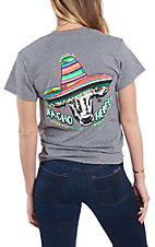 Girlie Girl Women's Graphite Nacho Heifer Short Sleeve T-Shirt