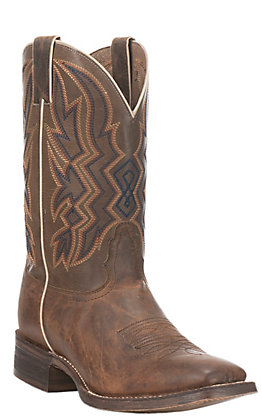 Nocona Men's HERO Collection Brown Double Welt Wide Square Toe Deputy Western Boot