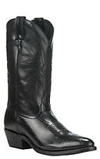 Nocona Men's Black HERO Round Toe Western Boots