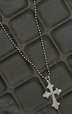 Montana Silversmiths Flurry Cross Necklace