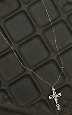 Montana Silversmiths Filigree Silver Cross Necklace