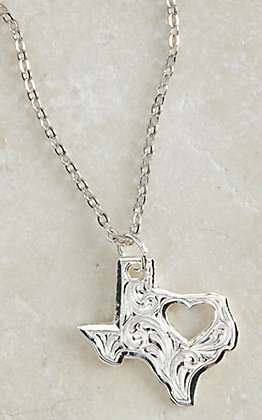 Montana Silversmiths My Heart Belongs in Texas Necklace