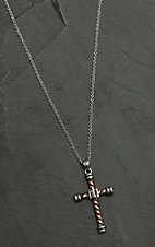 Montana Silver Smith Faith is an Open Book Cross Necklace