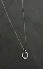Montana Silversmiths Catch Some Luck Horseshoe Necklace