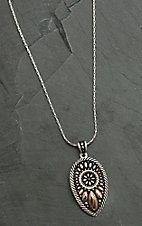Montana Silver Smith Sunset Prairie Clover Necklace
