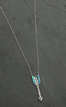 Montana Silversmiths Sky Fletched Arrow Mecklace