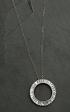 Montana Silversmiths Twilight Halo Circle Necklace