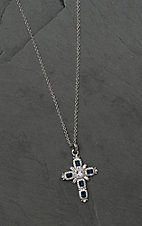 Montana Silversmiths River of Lights Budded Cross Necklace