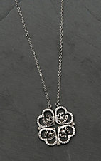Montana Silver Smith Convertible Star of My Heart Horseshoe Clover Necklace