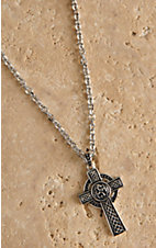 Montana Silversmiths St. Patrick's Cross Necklace